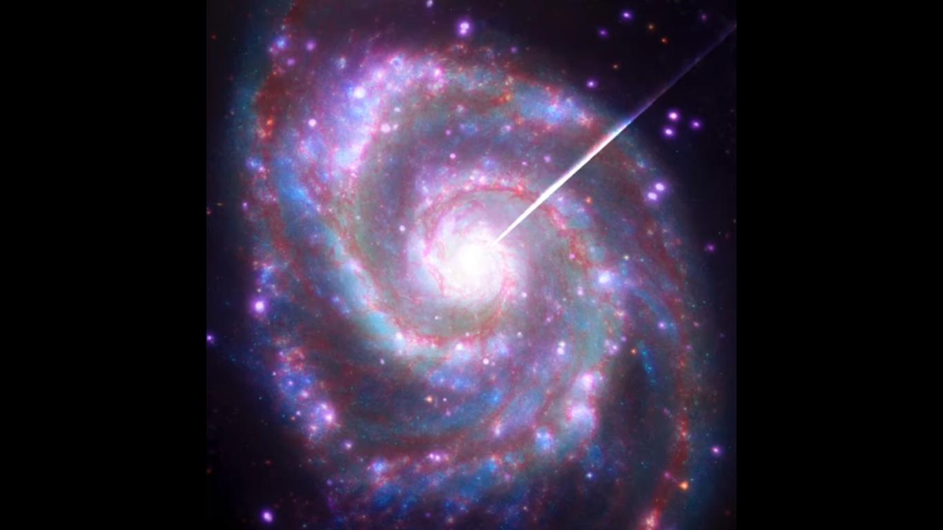 Galaksija vrtlog. Izvor: Nasa.gov
