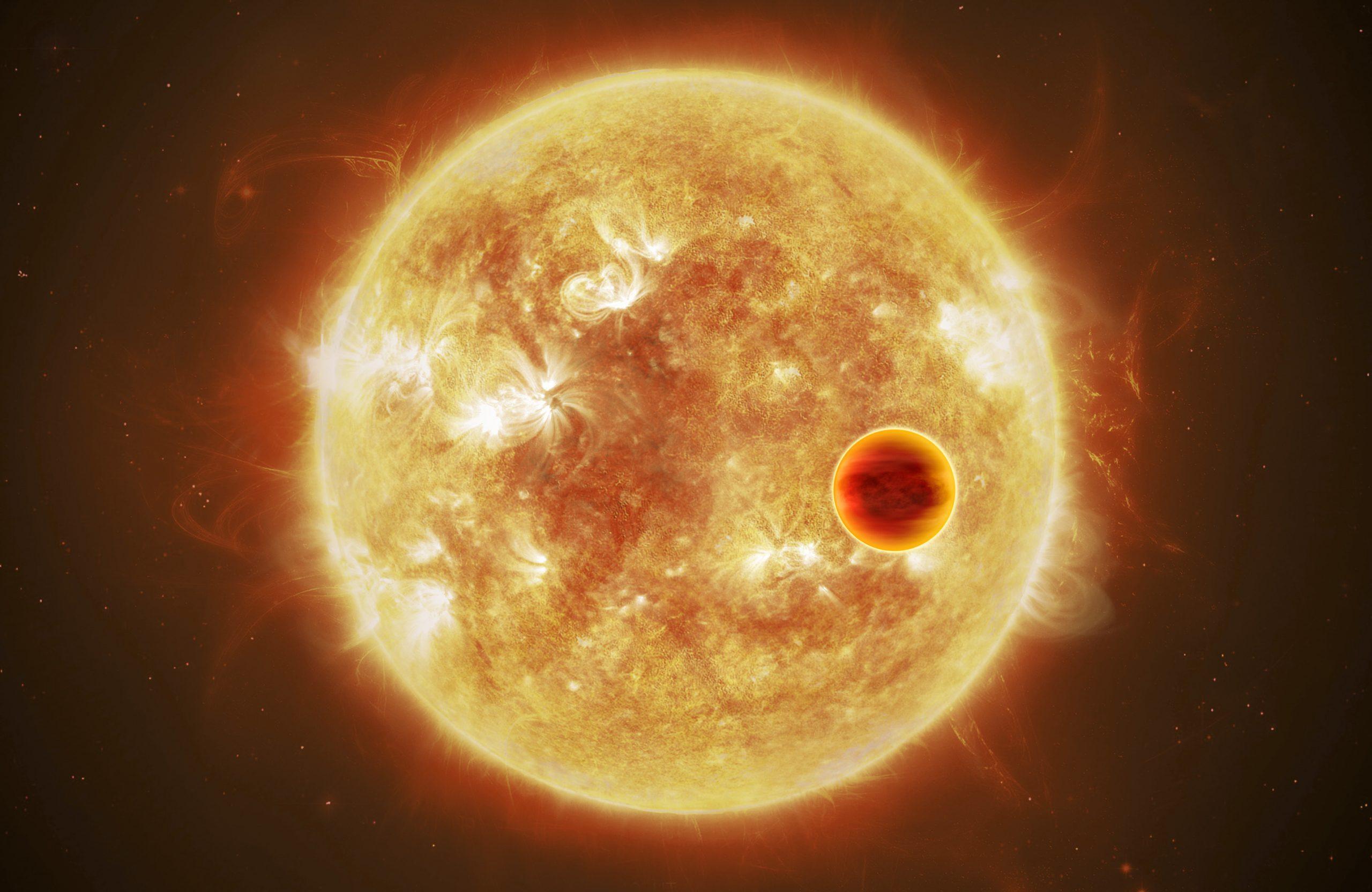 Nova zvijezda, Divovska zvijezda, Novi planet