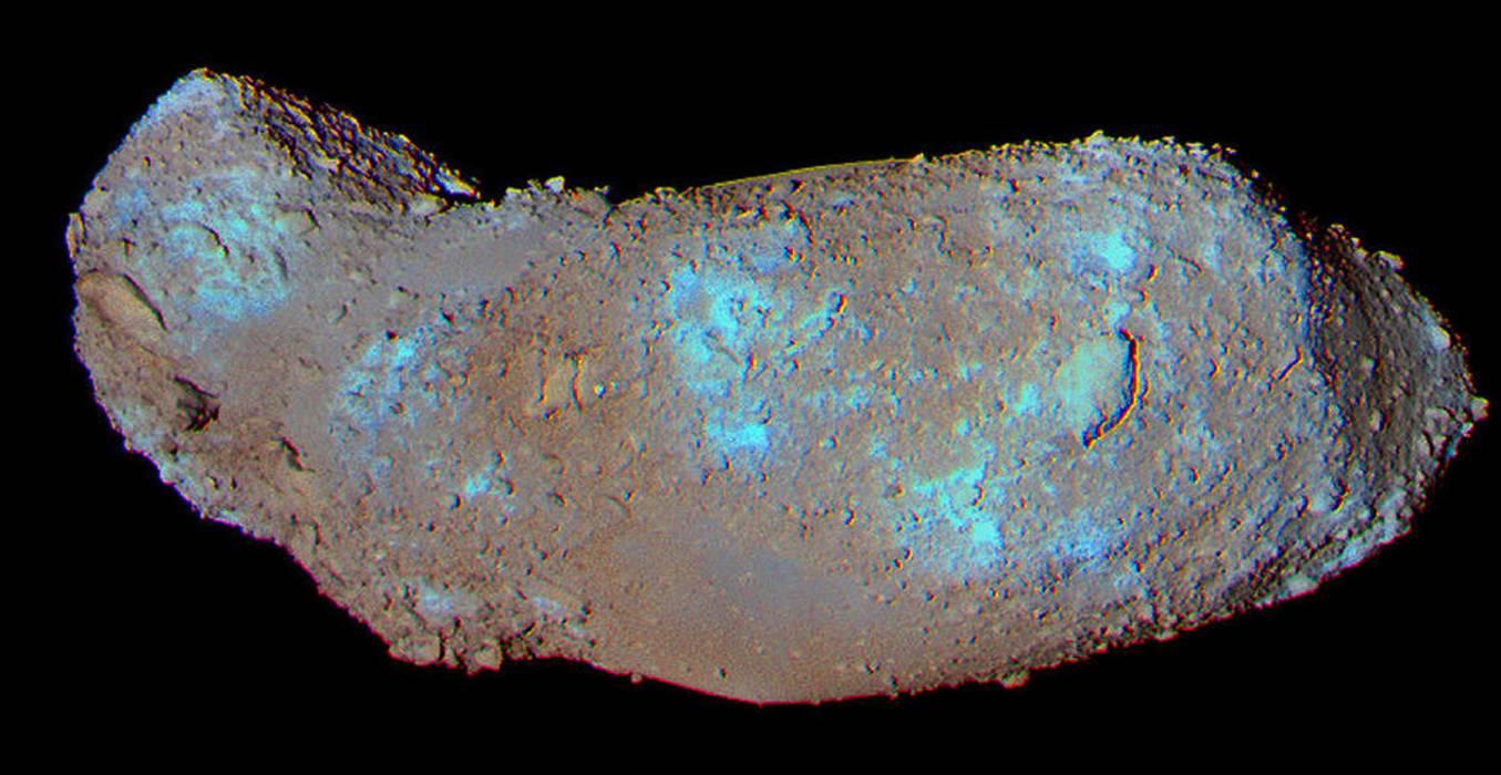 voda-i-ogranske-tvari-na-asteroidu