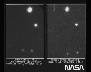 Teleskop Hubble-prva slika zvijezde