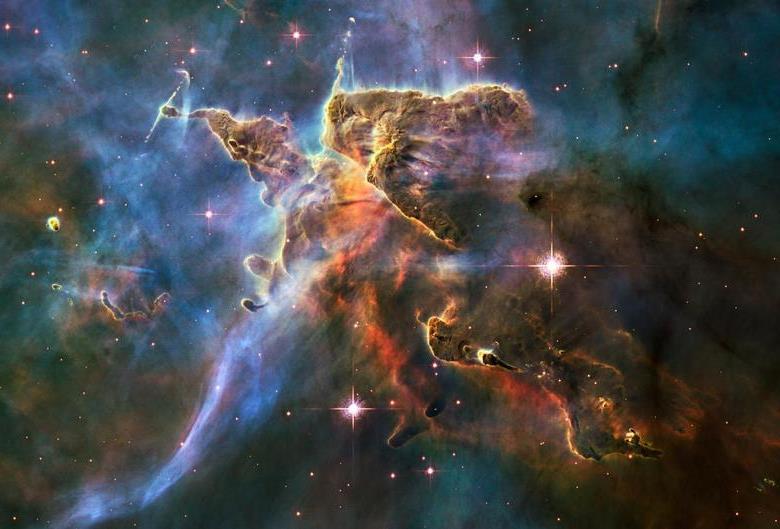 Međuzvjezdani oblak, sačinjen od prašine i plinova. Izvor: Reuters.com