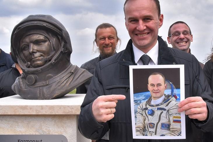 Ruski kozmonaut Sergey Ryazansky. Izvor: glasistre.hr/Duško Marušić Čiči