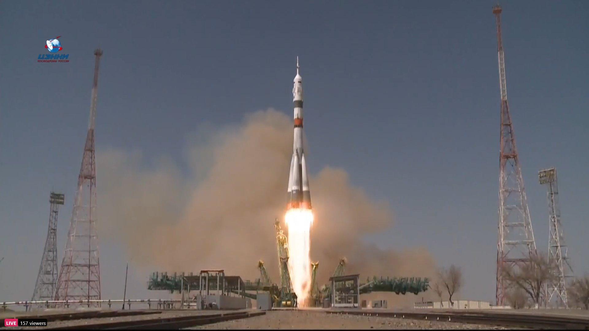 Soyuz MS-18. Izvor: nasaspaceflight.com