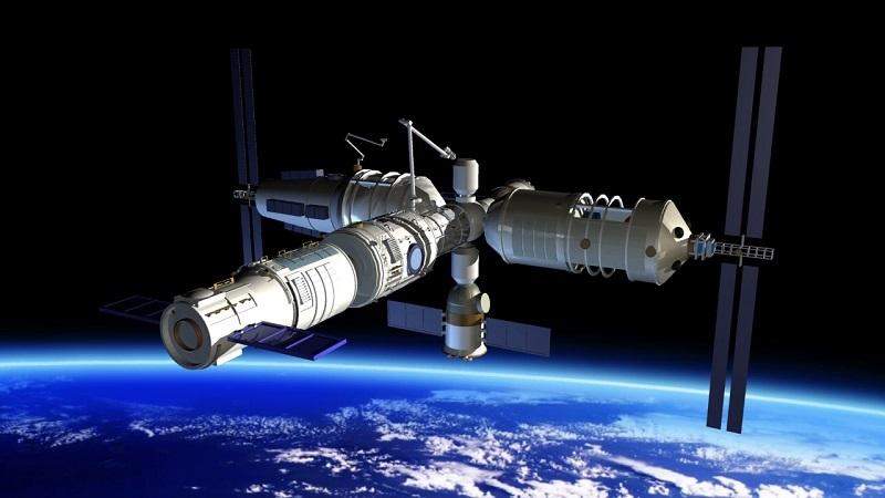 Kineska svemirska postaja Tiangong-1. Izvor: CASC