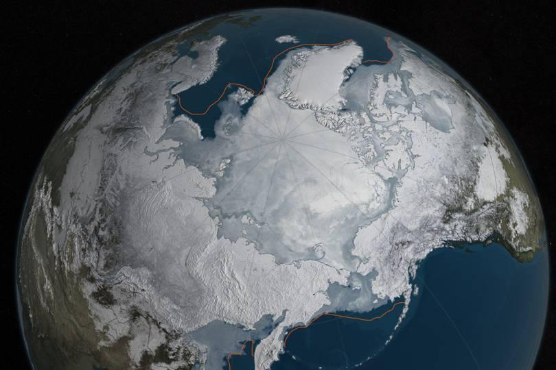 Ledeno doba. Izvor: nasa.gov