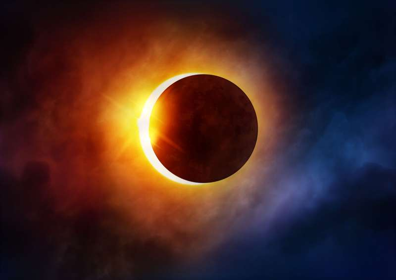 Pomrčina Sunca. Izvor: britannica.com