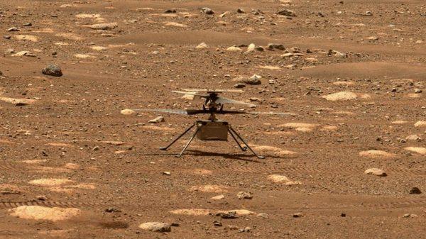 "NASA-in helikopter ""Ingenuity"". Izvor: NASA/JPL-Caltech/ASU"