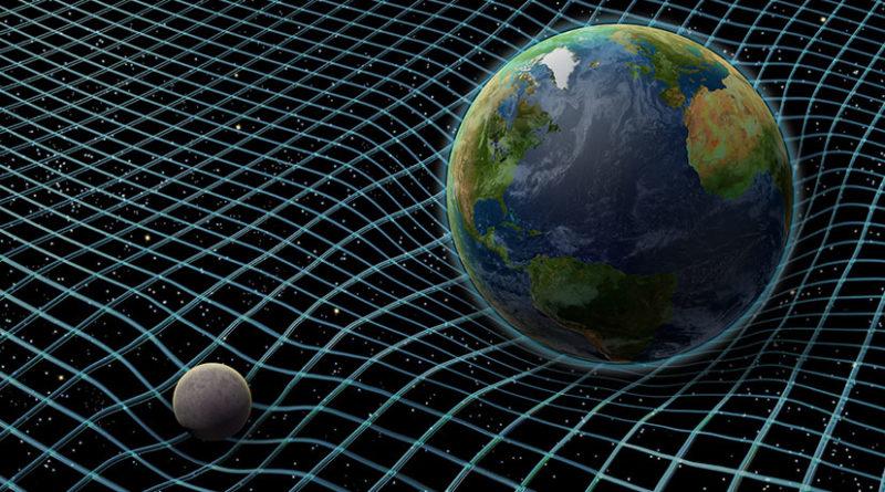 Zakrivljenje prostor-vremena. Izvor: gienvision.com