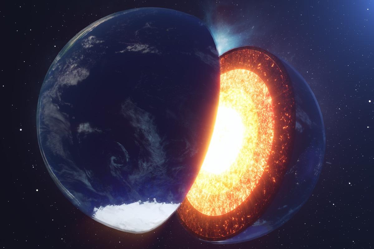 Zemljina unutrašnjost. Izvor: Livescience.com