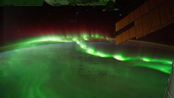 Aurora borealis. Izvor: nasa.gov