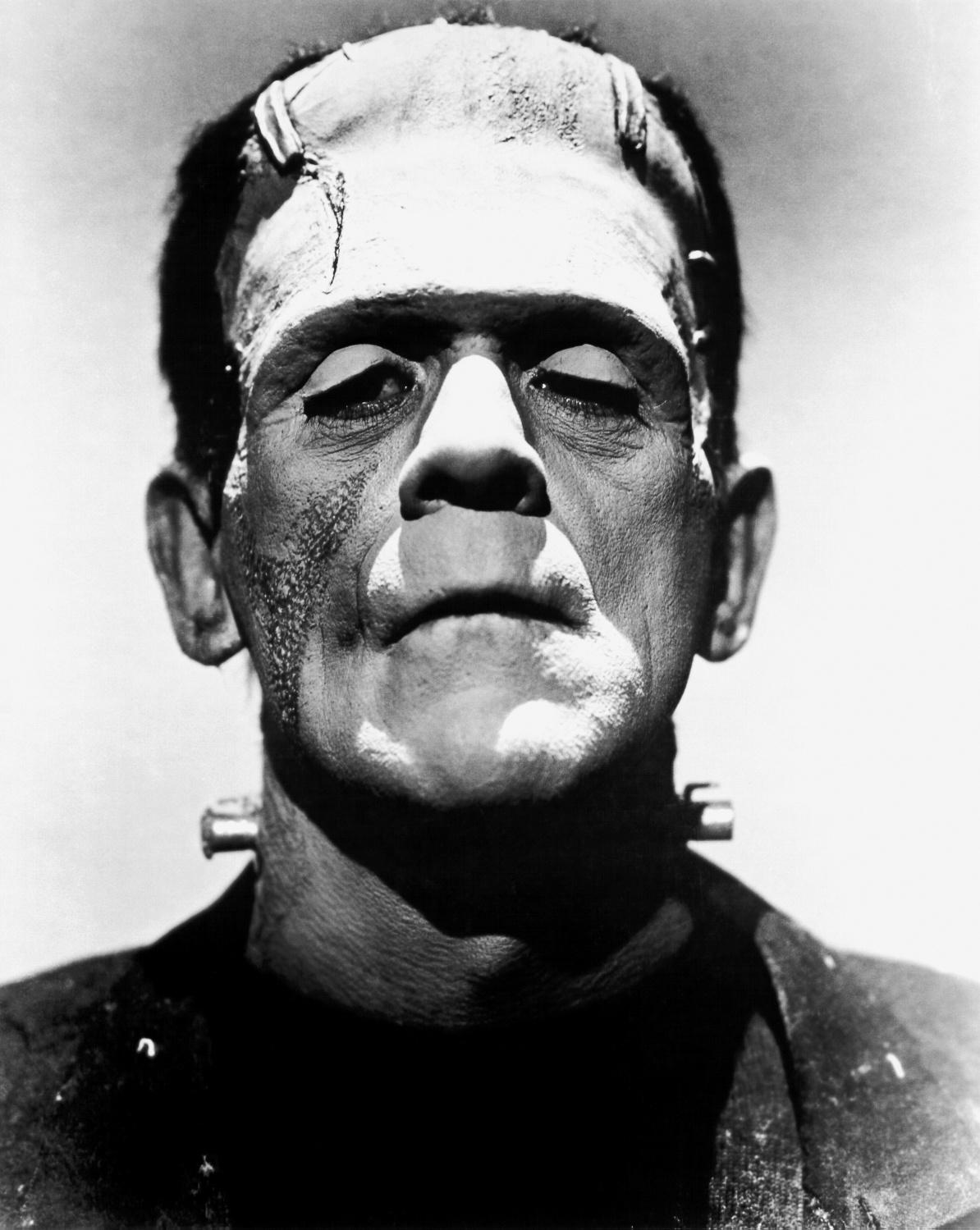 """Boris Karloff kao Frankenstein u filmu """"Frankensteinova mlada"""". Izvor: Wikimedia Commons."""