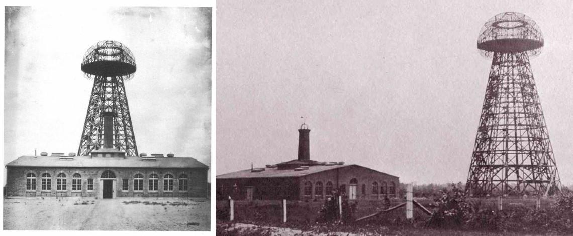 Toranj Wardenclyffe - radio odašiljač i pokusni toranj kojeg je 1901. godine počeo graditi Nikola Tesla. Izvor: croatia.hr/hr-HR.