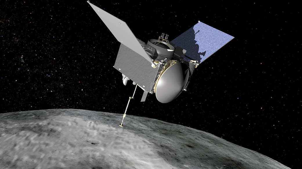 NASA-ina svemirska letjelica OSIRIS-REx. Izvor: Nasa.gov.