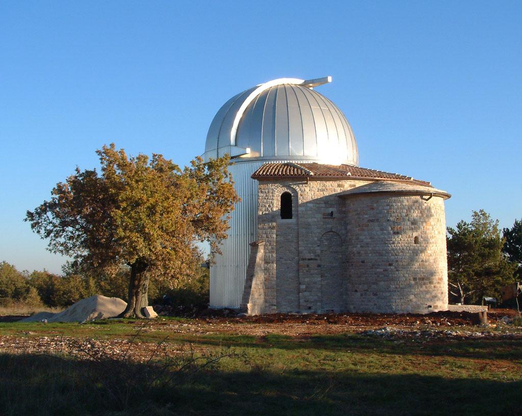 Zvjezdarnica Tičan. Izvor: Wikimedia Commons.