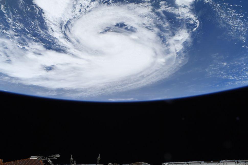 Uragan Henri. Izvor: NASA/Megan McArthur.