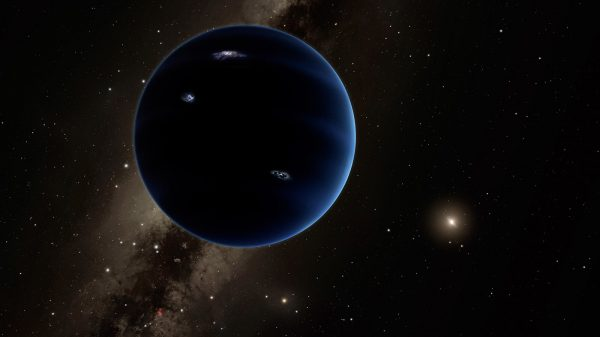 Umjetnička ilustracija potencijalnog devetog planeta koji kruži daleko od našeg Sunca. Izvor: solarsystem.nasa.gov.