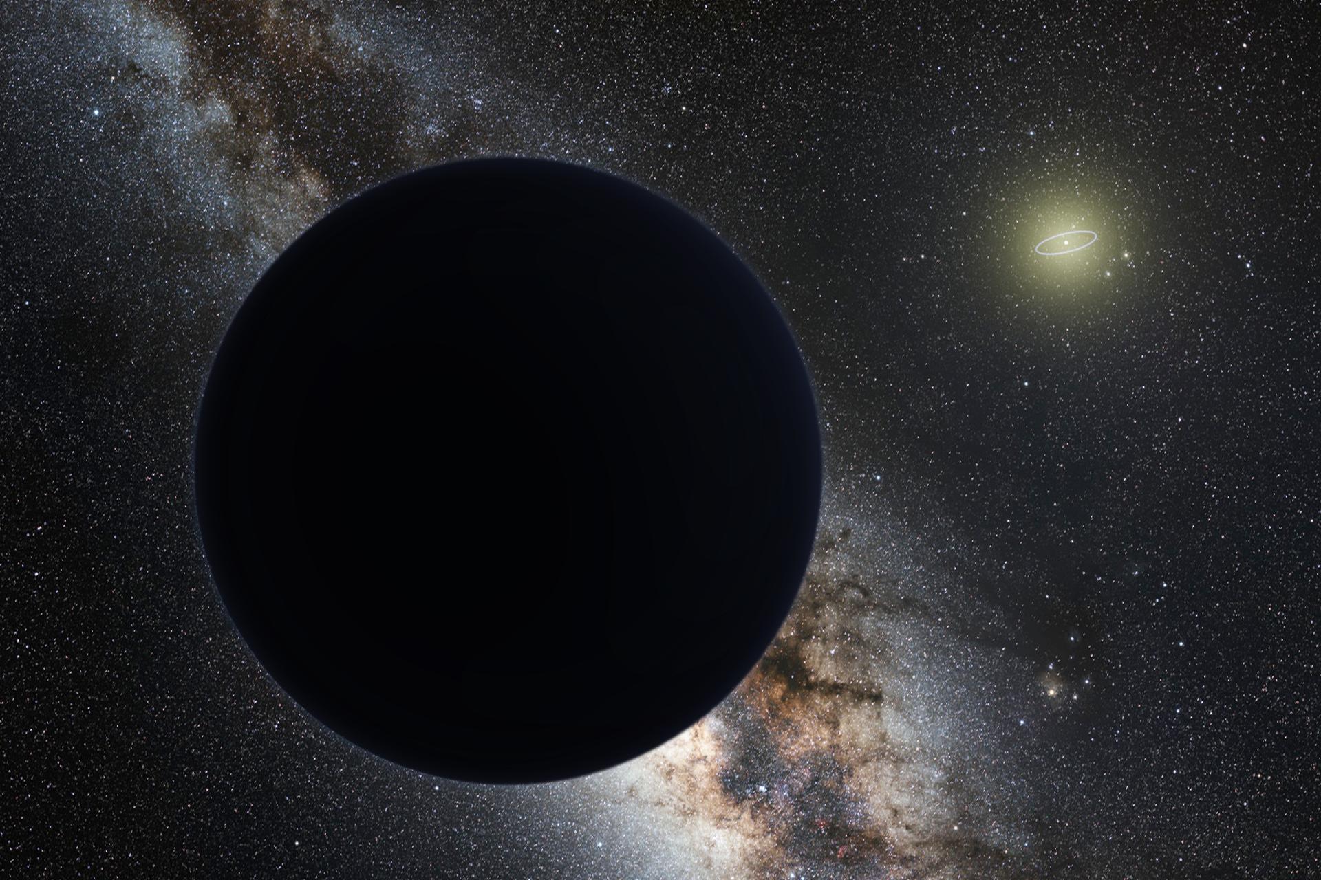 Umjetnička impresija devetog planeta u Sunčevom sustavu. Izvor: Wikimedia Commons.