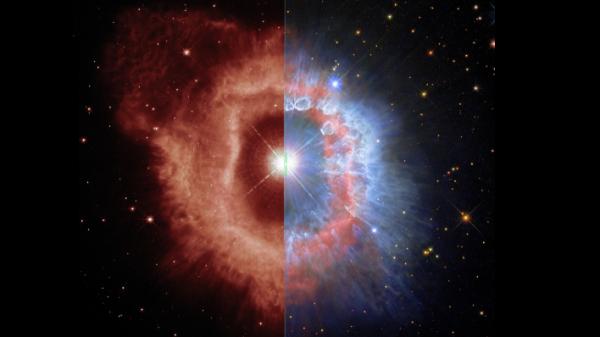 Povodom 31. godišnjice, NASA-in i ESA-in svemirski teleskop Hubble snimio je zvijezdu AG Carinae. Izvor: ESA/Hubble and NASA, A. Nota, C. Britt.