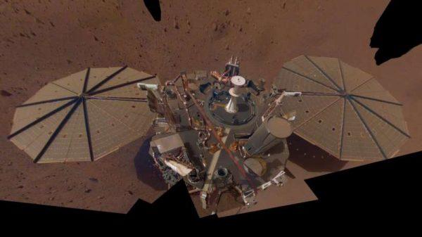 NASA-in lander InSight. Izvor: NASA/JPL-Caltech.