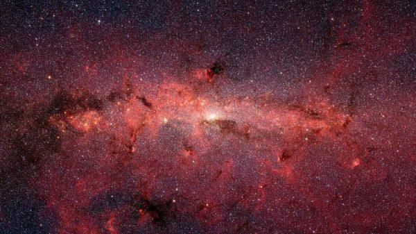 Središte Mliječne staze. Izvor: NASA, JPL-Caltech, Susan Stolovy (SSC/Caltech) et al.