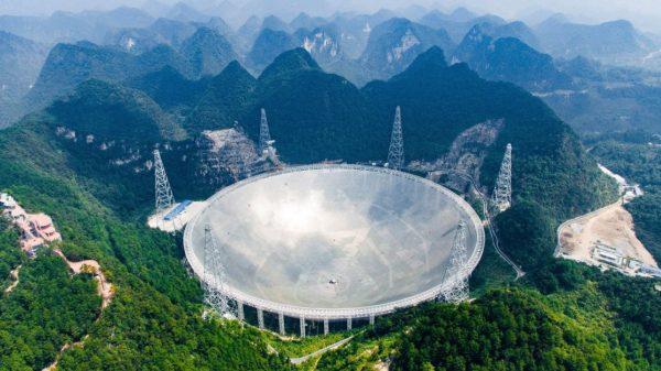 Novi kineski teleskop FAST. Izvor: Universetoday.com.