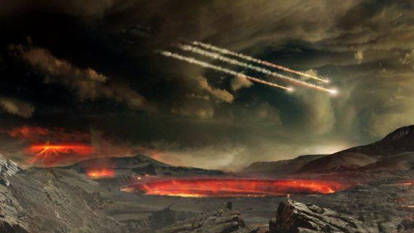 Rana Zemlja. Izvor: NASA Goddard Space Flight Center Conceptual Image Lab.